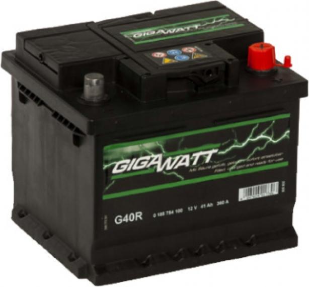 Аккумулятор Gigawatt 6 СТ-41-R  0185754100 на Renault Fluence