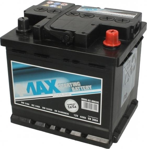 Аккумулятор 4Max 6 СТ-44-R Ecoline 0608030003Q