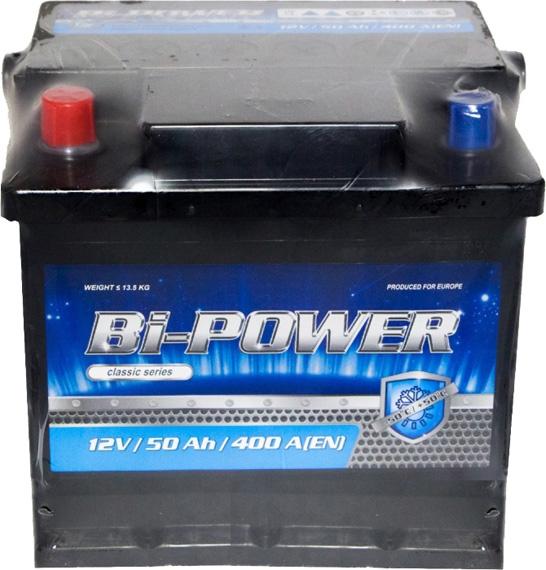 Аккумулятор Bi-Power 6 СТ-50-L Classic 0160383