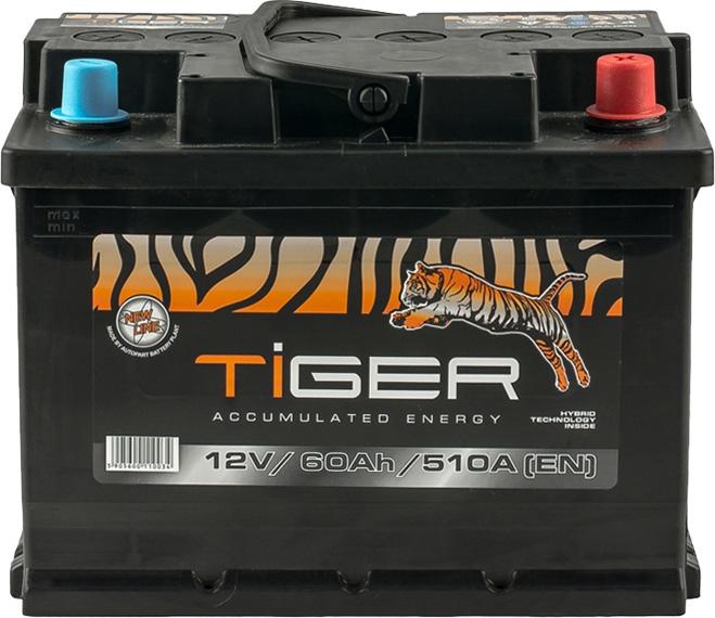 Аккумулятор Tiger 6 СТ-60-R  AFS06000 на Daewoo Lanos