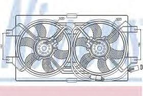 Вентилятор системы охлаждения двигателя Nissens 85386