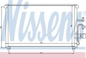 Радиатор кондиционера Nissens 94639