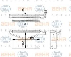 Испаритель Behr Hella 8FV 351 211-761