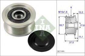 Муфта генератора INA 535 0226 10
