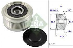 Муфта генератора INA 535 0228 10