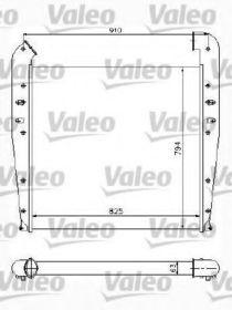 Интеркулер Valeo 817772