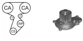 Комплект ремня ГРМ + помпа Airtex WPK-715601