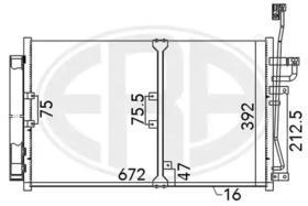 Радиатор кондиционера ERA 667140