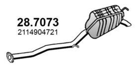 Глушитель выхлопных газов конечный Asso 28.7073