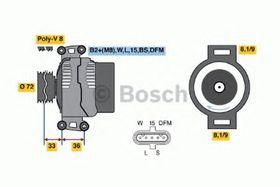 Генератор Bosch 0 986 047 820