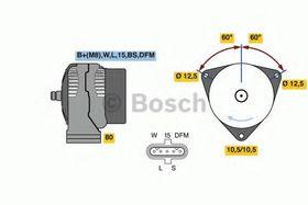 Генератор Bosch 0 986 049 820