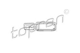Рамка ручки двери Topran 112 284