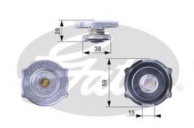 Крышка радиатора Gates RC135
