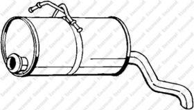 Глушитель выхлопных газов конечный Bosal 135-001