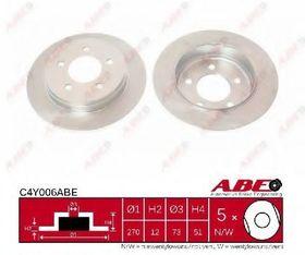 Тормозной диск Abe C4Y006ABE