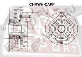 Ступица колеса Asva CHRWH-CAPF