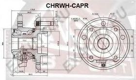 Ступица колеса Asva CHRWH-CAPR