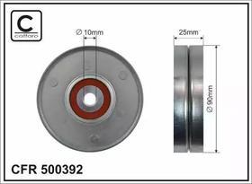 Обводной ролик Caffaro 500392