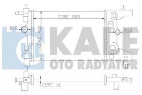 Радиатор охлаждения двигателя Kale Oto Radyatör 355200
