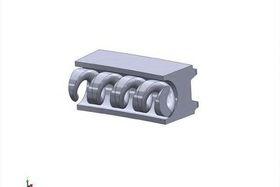 Комплект поршневых колец Hastings Piston Rings 2C7458
