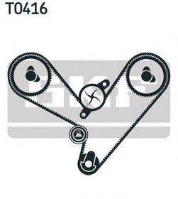 Комплект ремня ГРМ SKF VKMA 95003