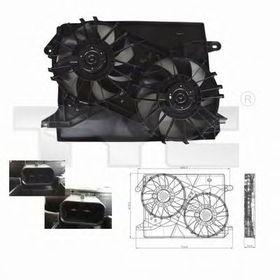 Вентилятор системы охлаждения двигателя Tyc 804-0001