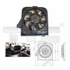 Вентилятор системы охлаждения двигателя Tyc 804-0003