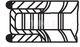 Комплект поршневых колец Mahle 011 50 N0