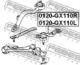 Шаровая опора Febest 0120-GX110R