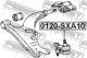 Шаровая опора Febest 0120-SXA10