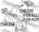 Шаровая опора Febest 0120-XLR