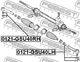 Наконечник рулевой тяги Febest 0121-GSU40LH