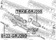 Рулевая тяга Febest 0122-GRJ200