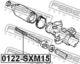 Рулевая тяга Febest 0122-SXM15