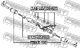 Рулевая тяга Febest 0122-UZJ100