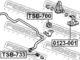 Стойка стабилизатора Febest 0123-001 для Toyota Land Cruiser