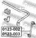 Стойка стабилизатора Febest 0123-002 для Toyota Previa