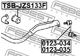 Стойка стабилизатора Febest 0123-035