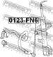 Стойка стабилизатора Febest 0123-FN6