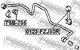 Стойка стабилизатора Febest 0123-FZJ80R
