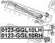 Стойка стабилизатора Febest 0123-GGL10LH