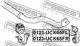 Стойка стабилизатора Febest 0123-UCK65FR