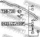 Стойка стабилизатора Febest 0123-UZJ100F