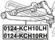 Рычаг подвески Febest 0124-KCH10LH