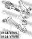 Рычаг подвески Febest 0124-YRVL