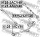 Рычаг подвески Febest 0125-1ACV40