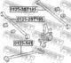 Рычаг подвески Febest 0125-2ST195