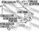 Рычаг подвески Febest 0125-3GSU45