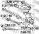 Рычаг подвески Febest 0125-710