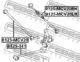 Рычаг подвески Febest 0125-MCV20RH